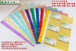 摩斯小舖~輕便型~11孔資料本 100名名片簿 名片本 卡片收集冊 收納本~適用2 3 4孔夾 10色~特價:28元/本