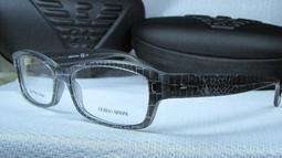 『珍妮妹妹』【GA 890-G0Q】全新正品GIORGIO ARMANI時尚質感造型鏡框~~