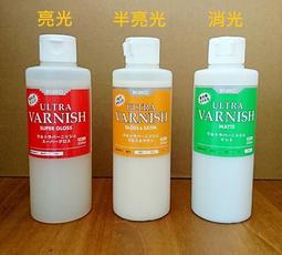 ✿粉紅豬✿~【日本進口】Padico Ultra Varnish 凡尼斯 水性漆 透明漆 保護漆 亮光漆 消光漆 清漆
