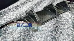 【愛卡】Benz 賓士 w204 C300 前期 碳纖維大魚鰭 / 卡夢大魚鰭