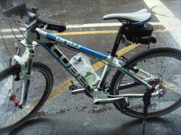 喬捷單車精品─2011年德國進口CUBE AIM 前避震登山車(14吋)(白/藍色)(組車)