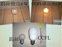 【幸福】CCFL球泡燈6W玻璃外罩型 螺旋燈 E27燈泡 液晶燈 冷陰極燈 節能燈