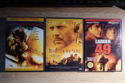 DVD 電影 Black Hawk Down/Tears of the Sun/Ladder 49