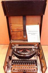 【醜老闆選物】1935年  美國 古董 REMINTON NOISELESS 7 打字機 收藏 陳列 擺設 稀有