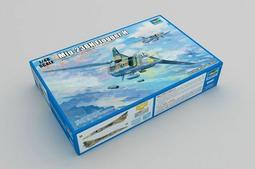"""現貨 1/48 TRUMPETER Mig-23BN""""鞭撻者H""""戰鬥轟炸機 05801"""