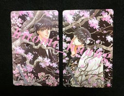 CLAMP X 星史郎 昴流 日版電話卡與桌曆組(*稀有絕版品)