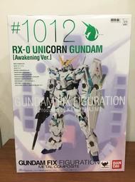 【神樂玩具】(售完)高雄可面交 日版 GFF Metal Composite FIX 1012 獨角獸鋼彈 覺醒