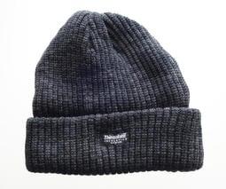 美國進口【防寒保暖毛線帽】黑灰色3M Thinsulate保溫棉材質