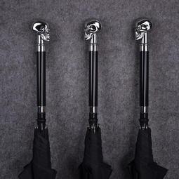 雨傘男傘中劍防身刀劍傘創意刀傘長柄帶劍骷髏個性雙人潮流可拔出