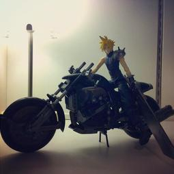 Final Fantasy VII Cloud Strife & Hardy Daytona Action Figure