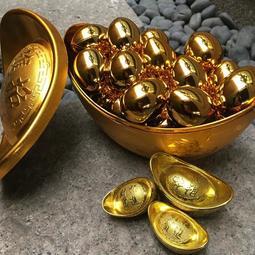 【樂提小舖】13026 ‧99金雞蛋 過年飾品 金雞蛋飾品金雞蛋道具 新年飾品 招財擺飾 春節飾品 求財金雞母 開運擺飾