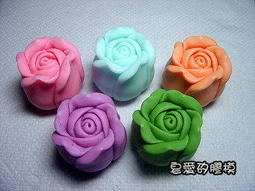 皂愛矽膠模*~小玫瑰(3)矽膠皂模~(手工皂與DIY蠟蠋的好幫手)