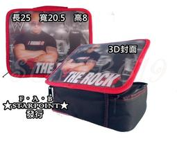 ㊣SUPER619㊣ WWE The Rock Lunch Kit 巨石強森 便當袋