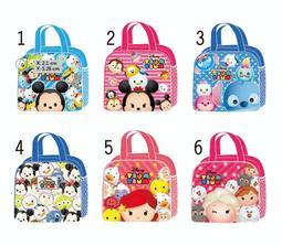 小魚衣舖 2019Q版迪士尼卡通便當袋 餐袋 便當袋(六款)