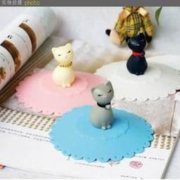 韓國生活創意 新款貓咪神奇防漏杯蓋 密封杯蓋 精緻包裝 禮物