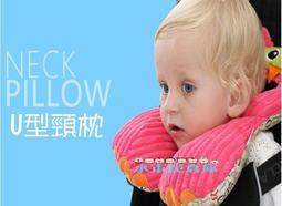 小市民倉庫-Jollybaby動物造型兒童護頸枕-寶寶U型枕-旅行枕-推車安全座椅頭枕-出車在外旅行必備-6款可選