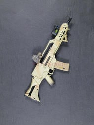 1/6 DAMTOYS G36K A4 步槍組