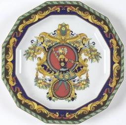 蘇菲和風館∼[特價]Versace  Le Roi Soleil Plate 17.5cm 典藏 全新 世界知名品牌