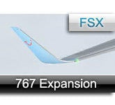 CLS Boeing 767 expansion pack For Flight simulator X