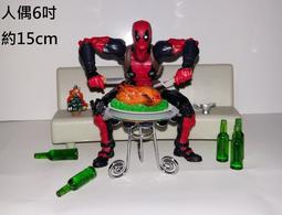 1:12 6吋 場景配件迷你微縮仿真食玩 聖誕大餐 可搭Marvel legends Figma SHF NECA山口