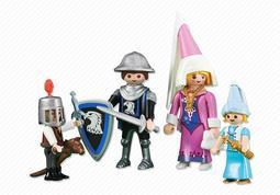 摩比 playmobil 6324 騎士家庭 袋裝