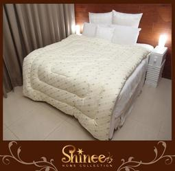 原價5980元↘原價SHINEE《100%純棉表布 天然澳洲防蹣羊毛暖冬被》雙人(6X7尺)-另有單人款 棉被 羊毛被