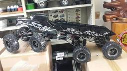 偉立模型 NANDA 1/8 8X8 ROCK CRAWLER 攀岩雪地車 八輪攀岩車 八輪車 攀岩車 RTR