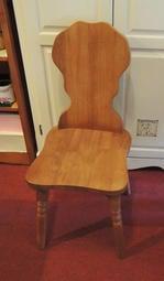~溫馨小舖J&J Store~鄉村風* 原木餐桌椅 餐椅 電腦椅 書桌椅 實木椅子/米樂椅 曲木椅