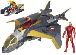鋼鐵人Iron Man- 馬克 + 昆式戰鬥機 QUINJET Vehicle 復仇者(全新未拆封)