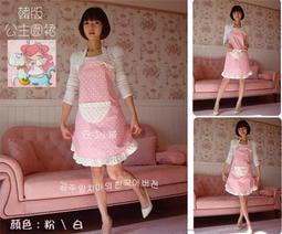 •°╭☆安咕小舖。韓版公主圍裙。다정하고 로맨틱 한。細緻。時尚。