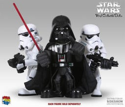 MEDICOM TOY 星際大戰 達斯維達 帝國風暴兵 黑武士 白兵 VCD STAR WARS DARTH VADER STORMTROOPER SIDESHOW HOT TOYS