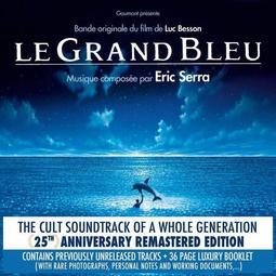 !代訂原聲帶 eric serra THE BIG BLUE碧海藍天電影原聲帶(22曲目)(25週年紀念版)