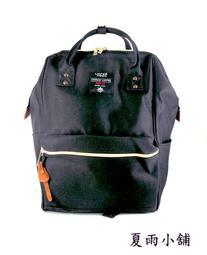 日本同步 輕量尼龍機能後背包--黑色