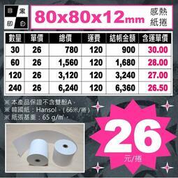 🐼《非黑即白》感熱紙捲:80x80x12mm【$26元/捲】。(POS機、點餐機、出單機專用) #感熱紙卷 #感熱紙