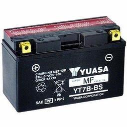 台南 機車 電池 -崇德汽車電池 YUASA YT7B-BS 新125噴射適用 台南