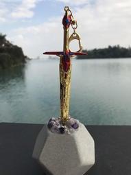 石中劍之擎天柱星辰劍 (金色)拆信刀