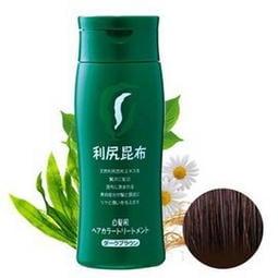 日本原裝Sastty 利尻昆布白髮染髮劑 咖啡色200g((送染髮梳)