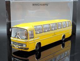 【M.A.S.H】絕版品特價 Minichamps 1/43 Mercedes-Benz O302 德國郵政1965