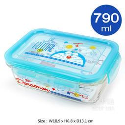 哆啦a夢 保鮮盒 小叮噹 多啦a夢 玻璃餐盒 便當盒 可微波 可愛 卡通  玻璃便當盒 交換禮物_a夢久久