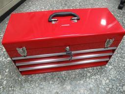 工業級強化三抽工具箱 530-A 三層式工具箱-保養廠、工具車、個人工作室 (與KINGTONY 87401-3H同級)