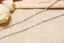 【姆指媽媽】1.9mm寬 不鏽鋼 細鏈 不銹鋼 鍊 鏈 細鍊 細 項鍊 項鏈 扁鍊扁鏈 扁o鏈 扁o鍊 (10公分5元)