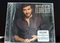 現貨 Brett Eldredge - Illnois  收錄 12首 美國版 CD 全新未拆