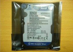 【霏訊】全新WD(西部資料)WD3200BEVE  320G筆記本硬碟 2.5寸IDE/並口