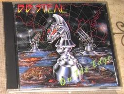 BB Steal / On The Edge(日盤 very rare!!!!!)