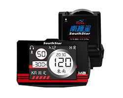 【邦榮車業】南極星 GPS-M8 (重機用) 防水版分體測速器
