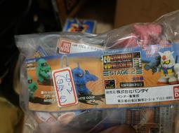 早期絕版扭彈BANDI SD Gundam full color鋼彈STAGE 2日版4孔全6款 SD Part 2