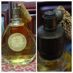 《萬發》早期 古董 懷舊 收藏 香水 日本製 噴嘴式