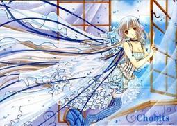 CHOBITS---clamp  電話卡  c02