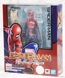 《樂達》現貨 日版 BANDAI S.H.F MARVEL 漫威 蜘蛛人:離家日 蜘蛛人 575456 LD