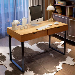 【CH13-第13章】大抽屜電腦桌 120公分 辦公桌 學習桌 書桌 居家 梳妝台 工業風 簡約 現代 收納